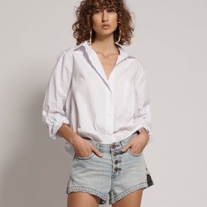 one teaspoon old west romeo denim shorts